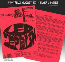 <b>Led Zeppelin in</b> Montreux