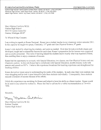 reference letter for highschool student recommendation letter for