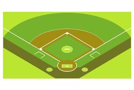 simple baseball field   simple baseball field   baseball    baseball field  corner view  corner view baseball field