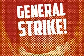 Image result for one day general strike