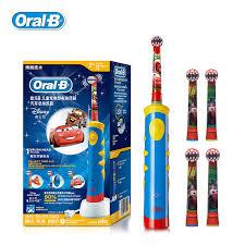 Children Electric Toothbrush <b>Oral B Cars</b> Tooth Brush D10 ...