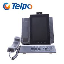 telpo build in camera office ip video phone build office video