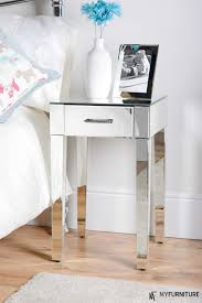 ideas bedside tables pinterest night: mirror bedside table surprising laundry room decoration fresh in mirror bedside table design