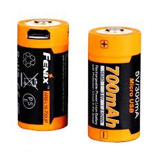 <b>Аккумулятор Fenix 16340 700</b> мАч Li-ion USB - купить в магазине ...