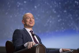 the billionaire space barons and the next giant leap albuquerque blue origin founder jeff bezos says commercial space exploration can advance at the fast pace of