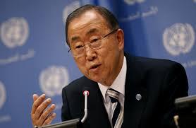 Ban Ki-moon: Retirar a Riad de la lista negra fue una de las 'más dolorosas' decisiones