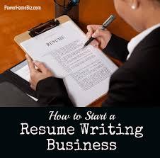 How to Start a Resume Writing Service Business   PowerHomeBiz Blog