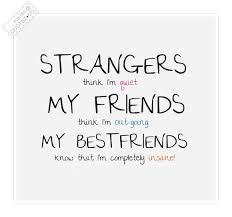 Strangers Friends And Best Friends Friendship Quote « QUOTEZ.CO