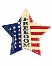 home decor plate x: home decor p freedom star americana plate  x  pack