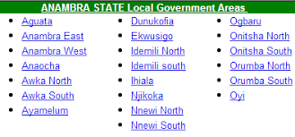 Image result for local government anambra state