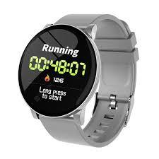 W08 Smart <b>Watch</b> For Men Blood Pressure Heart Rate <b>Fitness</b> ...