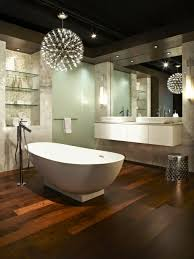bathroom lighting ideas creative chandeliers above the bath bathroom lighting ideas bathroom