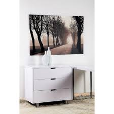 chest drawers white gloss draws lumiere high gloss set of  drawers white apartment lifestyle furniture