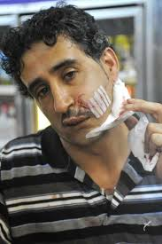 nypd releases surveillance photo of brooklyn bodega slasher ny mutahar murshea ali was working behind the counter at express deli and grocery at 1363 broadway when a man slashed his face a razor after he was not