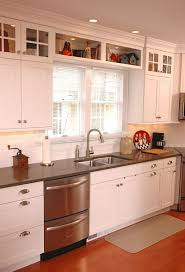 remodeling kitchen cabinets design home renovated galley kitchen with shaker style cabinets in the work area b