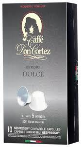Кофе в капсулах <b>Don Cortez</b> Dolce (10 капс.) — купить по ...