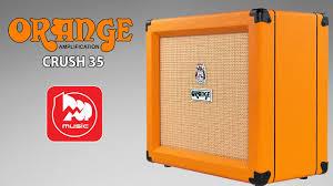 Гитарный комбик <b>Orange</b> Crush 35RT (двухканальный усилитель ...
