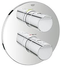 <b>Grohe Grohtherm 2000</b> 19354001 Thermostat with Shower Mixer ...