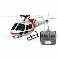 <b>Original</b>-<b>xk K123 6ch</b> Brushless As350 Scale RC Helicopter RTF ...