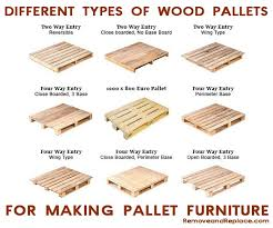 here are the many types of wooden pallets to make the best diy pallet furniture buy pallet furniture design plans