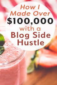 how i made a blog side hustle financial best life want to start earning money from home learn how i made over 100k