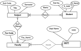 create an entity relationship diagram  database management system