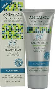 Andalou Naturals Clear Skin <b>Argan Stem Cell BB</b> Benefit Balm Un ...