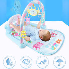 Newborn Baby Fitness Bodybuilding Frame Pedal Piano <b>Music</b> ...