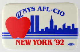 lot detail clinton nys afl cio new york x  clinton nys afl cio new york 92 1 75 x 2 75
