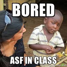 bored asf in class - Skeptical 3rd World Kid | Meme Generator via Relatably.com