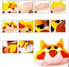 Как сделать игрушку кошку из ткани