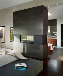 Small Gas Fireplaces For Bedrooms 20 Gorgeous Two Sided Fireplaces For Your Spacious Homes
