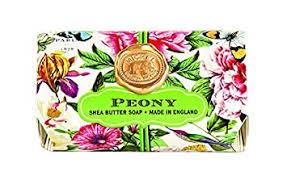 Michel Design Works Bath Soap Bar, Peony, Large ... - Amazon.com