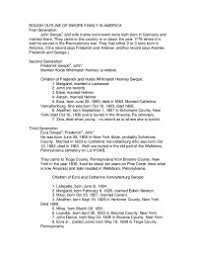 american history essay rough outline of swope family in america   essay   american  rough outline