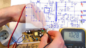 How Does a <b>Switching Power Supply</b> Work 2 (measurements ...