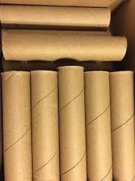 7 sturdy heavy duty cardboard tubes 8 long 175 diameter arts crafts cardboard tubes