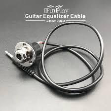 Акустическая гитара пьезо пикап эквалайзерный кабель Замена ...