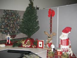 christmas decorating ideas for the cheap office decorations