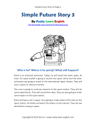 printable story and exercises to practice the english simple printable story and exercises to practice the english simple future verb tense pdf