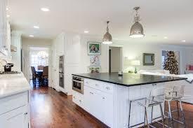 modern kitchen features wolf