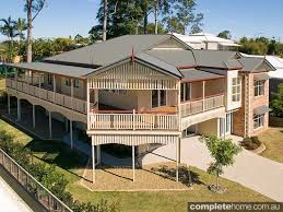 Traditional Queenslanders and Colonial style homes   CompletehomeA traditional colonial style home from Colonial Building Company