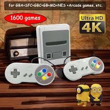<b>64 Bit 4K HD</b> Retro Game Console – Treasure Bay
