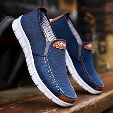 <b>Men Canvas shoes 2019</b> New Comfortable Canvas Shoes Men ...