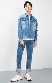JackJones <b>Men's Spring</b> & <b>Autumn</b> Loose Fit Short Denim Jacket J ...