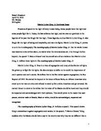 autobiography essay  jul xsl ptthe autobiography of martin luther king jr synthesis essay the autobiography of martin luther king jr