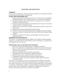 customer service rep responsibilities resume effective housekeeping resume for job description vntask com collector job description dawtek resume and esay
