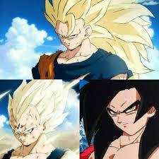 Goku <b>super</b> saiyan 3 majin vegita y goku <b>super</b> saiyan <b>4 style</b> ...