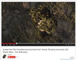 minor project  avatar fan film pandora environment test