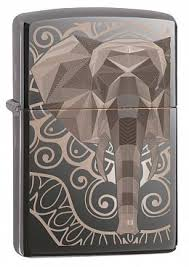 Купить <b>Зажигалка</b> ZIPPO 49074 <b>Elephant Fancy</b> Fill Design ...