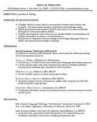 images about resume speech pathologist on pinterest   resume    free chronological resume examples       how to write a good resume  go to  steps  how to write a resume